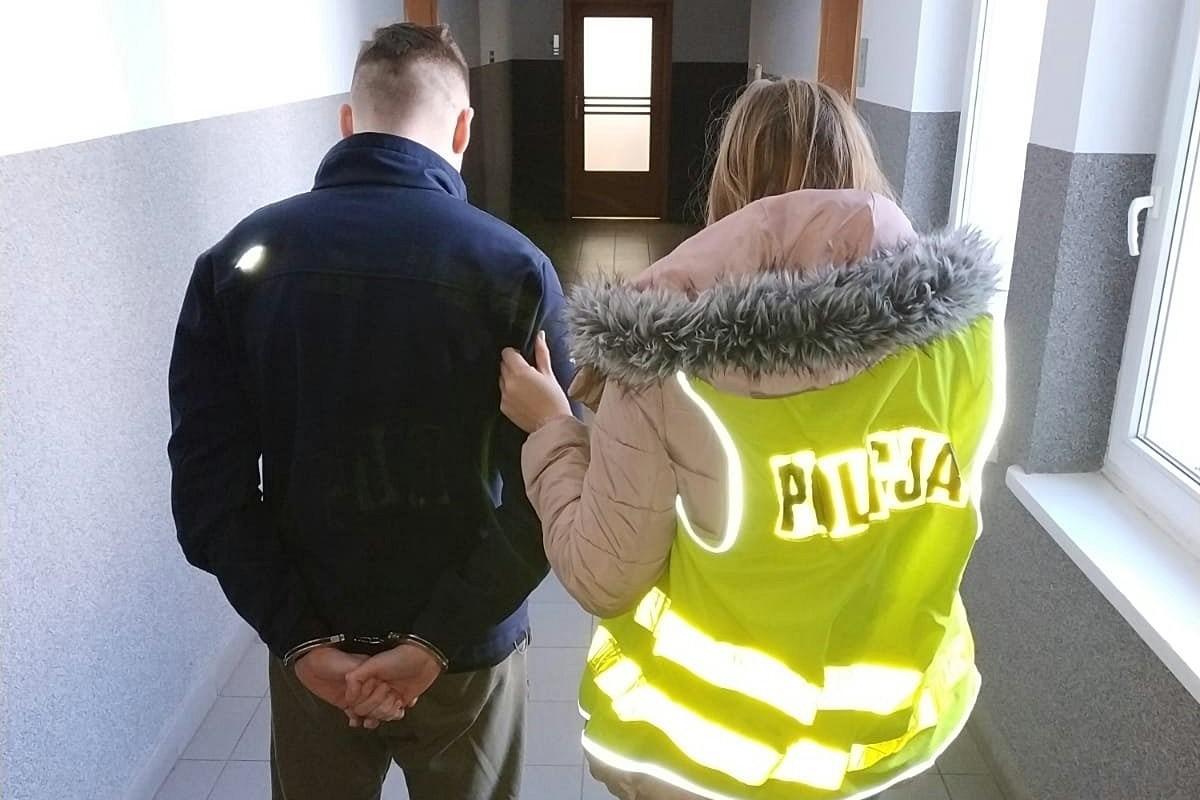 policja, zatrzymany - kwp