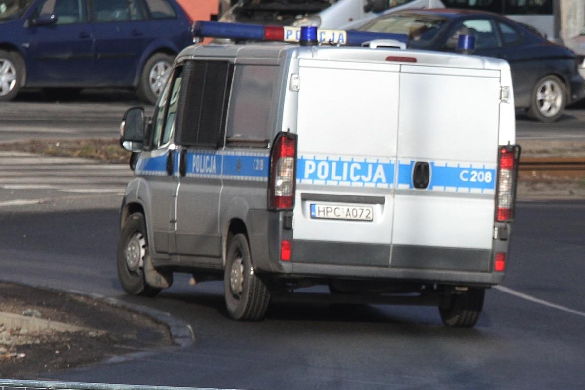 policja_ na sygnale - SF