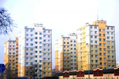 ul. Solskiego Bydgoszcz - bloki mieszkaniowe - SF