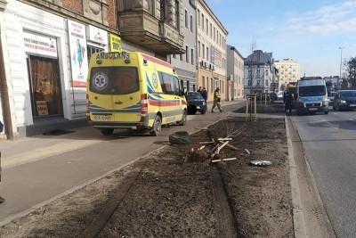wypadek_ Grunwaldzka Bydgoszcz - Pomoc Drogowa Krystian Andruszczenko-3