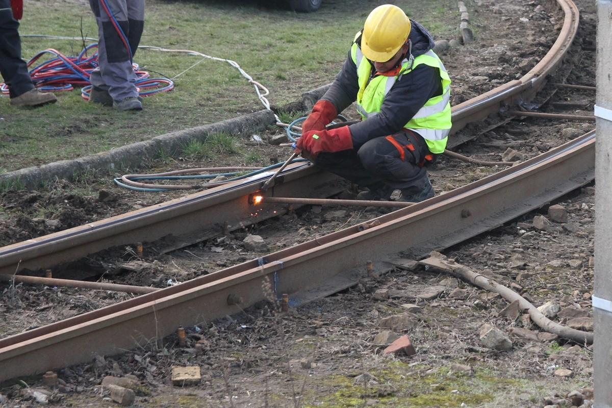 19-03-19 Wymontowane torowisko tramwajowe - Bydgoszcz - SF (4)