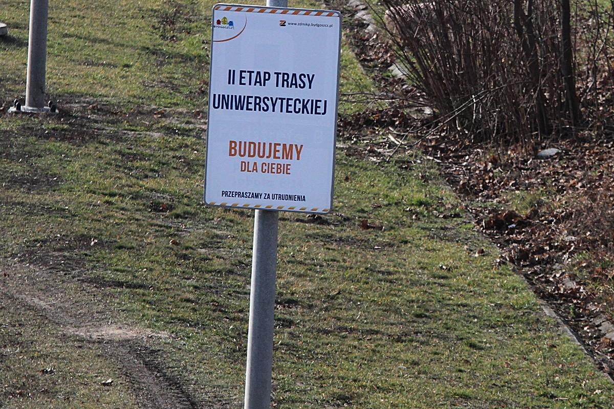 6-03-2019 Budowa Trasy Uniwersyteckiej Bydgoszcz - SF (46)