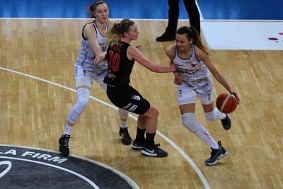 Energa Basket Liga Kobiet - Artego - Widzew_ JS