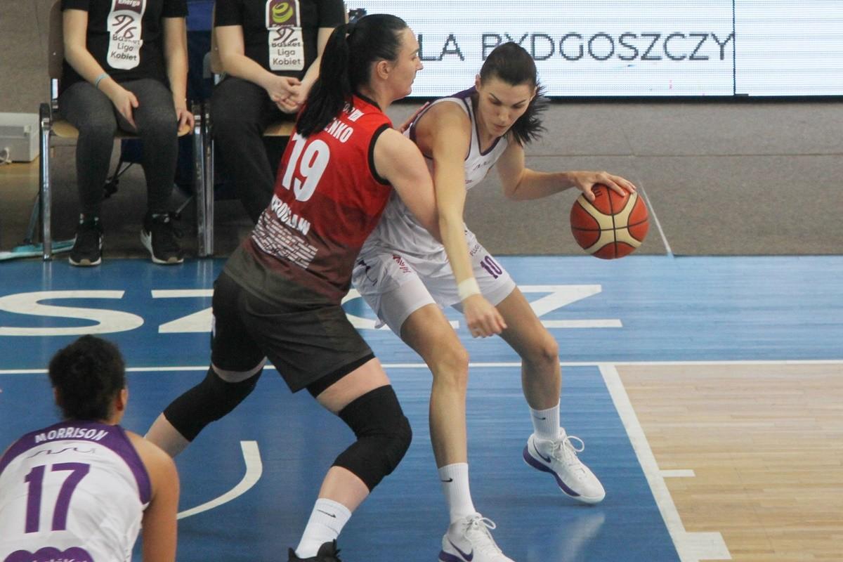 Energa Basket Liga Kobiet_ Artego Bydgoszcz - Ślęza Wrocław_ Dragana Stanković - SF