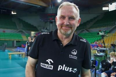 Jacek Nawrocki - trener reprezentacji Polski siatkarek - SG
