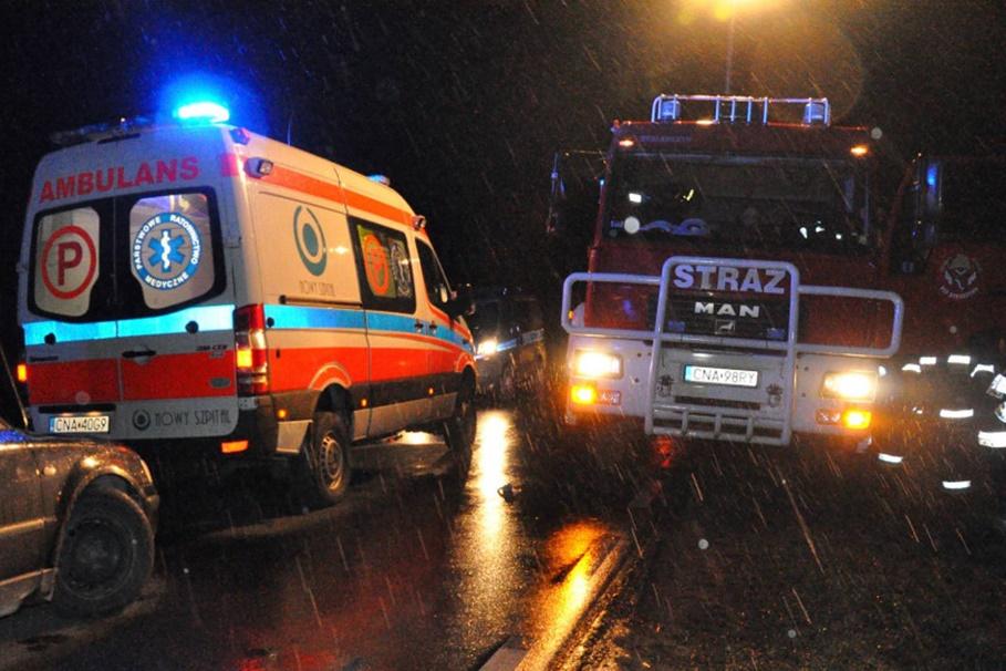 ambulans, straż pożarna, policja_ na sygnale - MR-1
