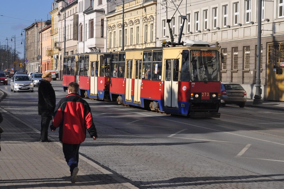 linia 1, tramwaj, focha - ST