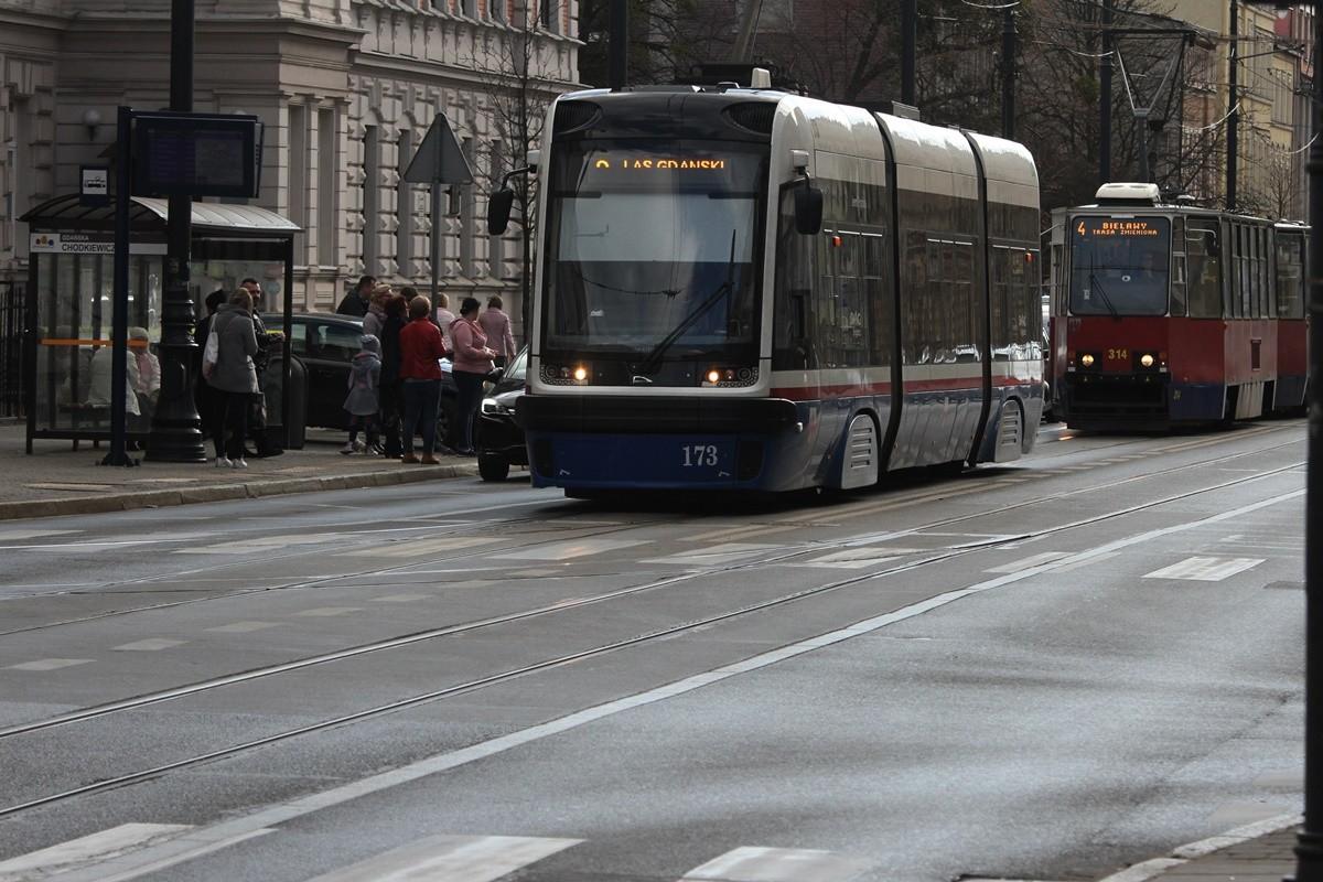 przystanek tramwajowy Gdańska-Chodkiewicza - SF