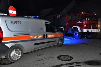 straż pożarna, pogotowie gazowe - na sygnale - MR
