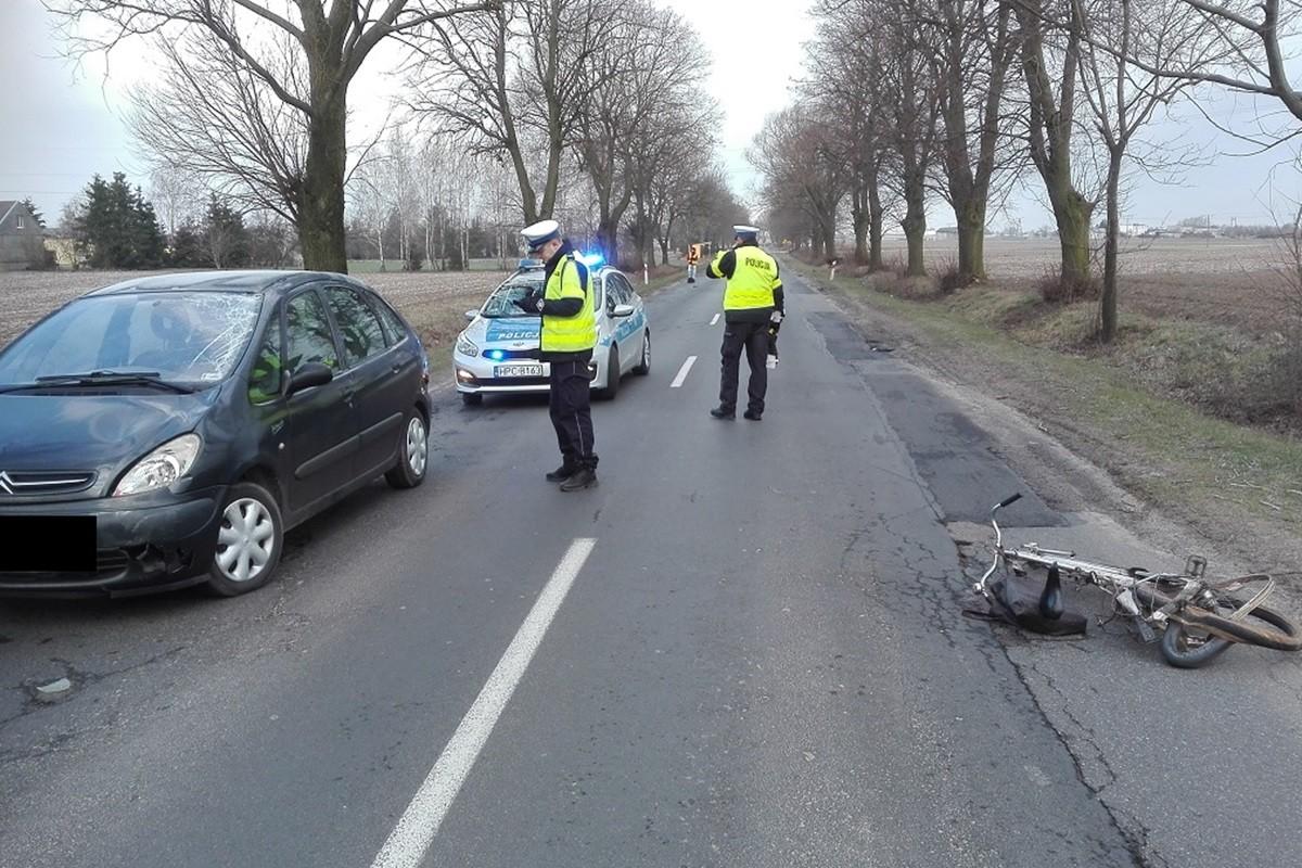 wypadek - policja rypin