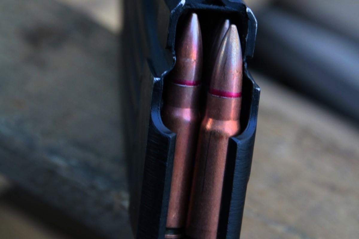 zabezpieczona broń, benzyna - KPP Radziejów (6)