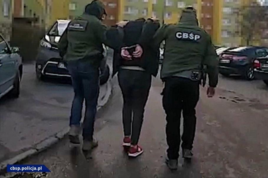 zatrzymanie_ akcja CBŚP Bydgoszcz - CBŚP-2