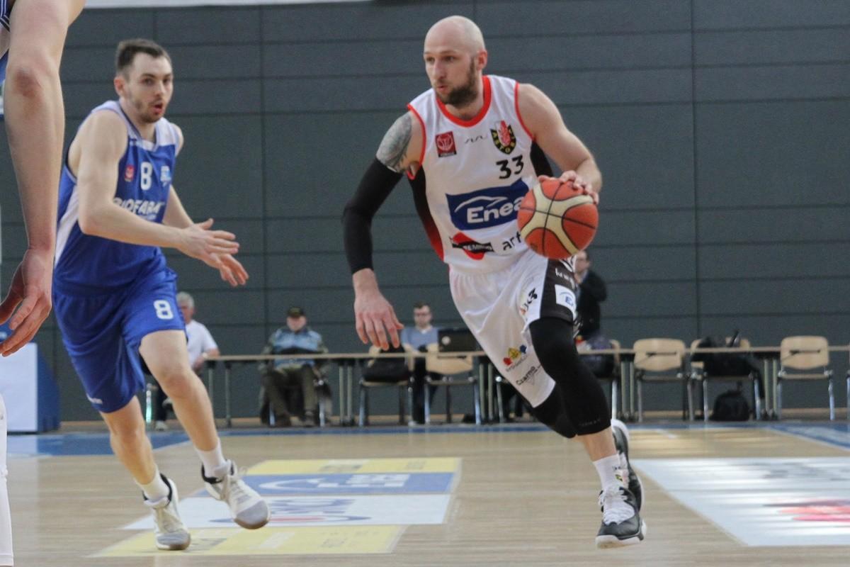 Ćwierćfinał I ligi koszykarzy - I mecz - Enea Astoria Bydgoszcz - Biofarm Basket Poznań - SF (2)