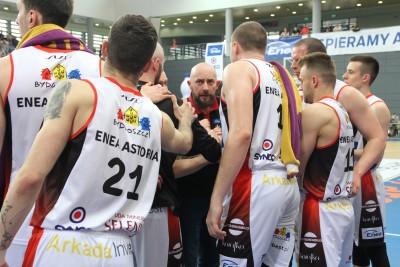 Ćwierćfinał I ligi koszykarzy - I mecz - Enea Astoria Bydgoszcz - Biofarm Basket Poznań - SF (28)