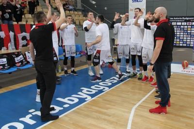 Ćwierćfinał I ligi koszykarzy - I mecz - Enea Astoria Bydgoszcz - Biofarm Basket Poznań - SF (4)