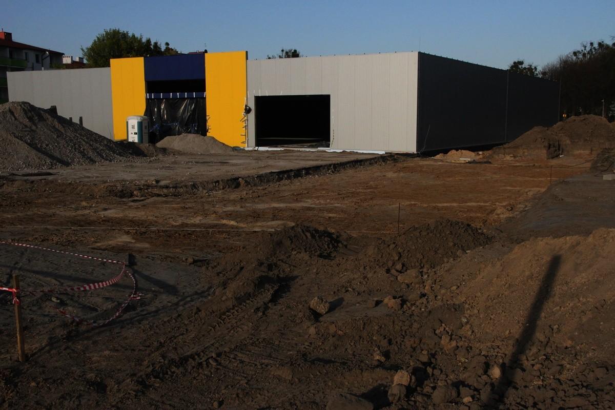 Budowa marketu PSB Mrówka - Szubin - SF