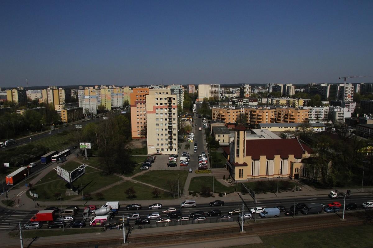 Bydgoszcz - widok z IX piętra Arkada Business Center - SF