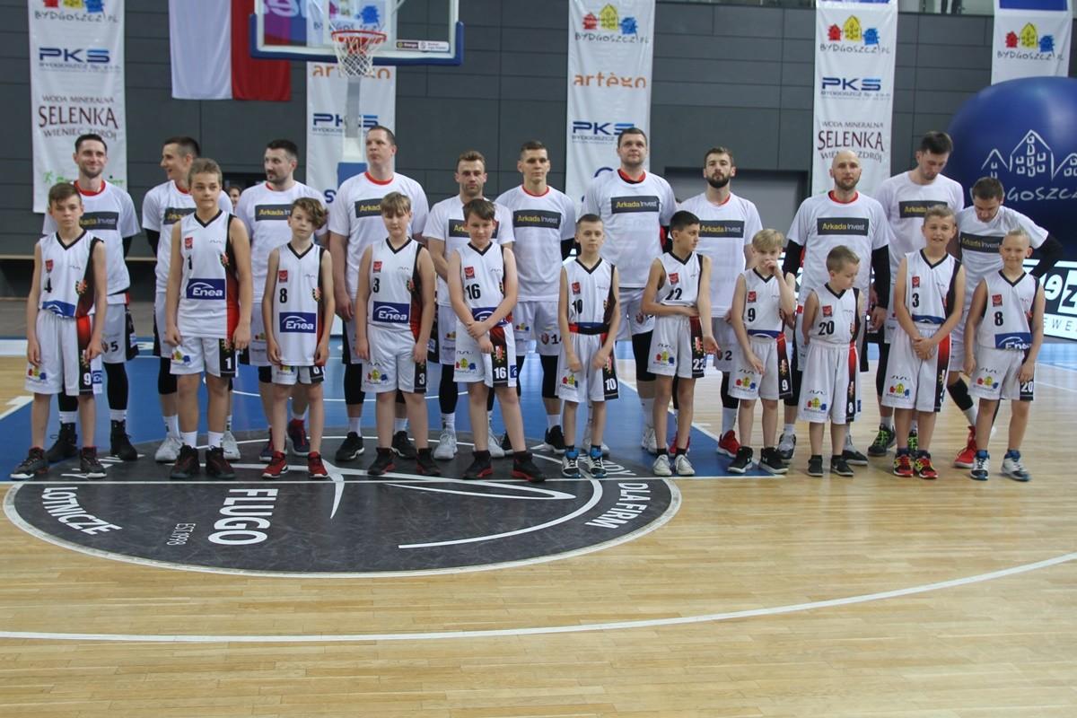 I liga koszykarzy - I mecz półfinałowy Enea Astoria Bydgoszcz - Rawlplug Sokół Łańcut_ Astoria - SF