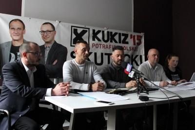 Konferencja_ Paweł Skutecki, Radosław Kuchnowski, Krzysztof Pietrzak, Rafał Kuskowski, Renata Włazik - SF