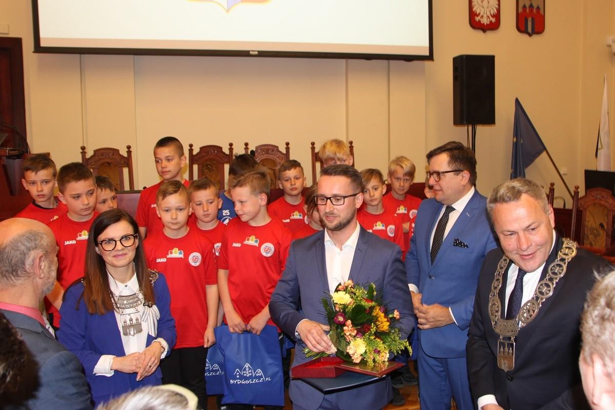 Medale Kazimierza Wielkiego - Bydgoszcz - BKS Chemik Bydgoszcz, Marcin Ossowski - SF