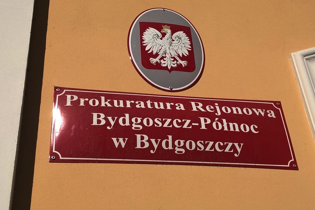 Tablica - Prokuratura Rejonowa Bydgoszcz - Północ - SF
