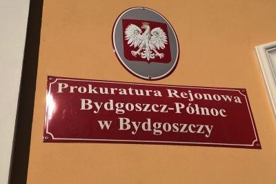 Tablica, szyld - Prokuratura Rejonowa Bydgoszcz - Północ - SF