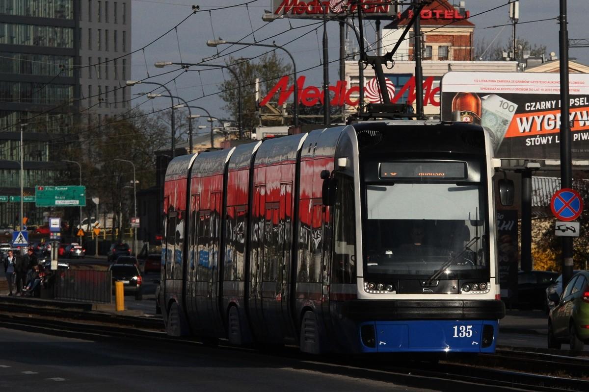 Tramwaj Pesa Swing Bydgoszcz - linia 10, kierunek Las Gdański - Jagiellońska-Łużycka - SF