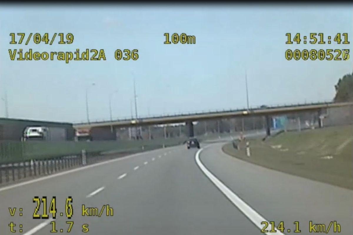 autostrada a1, pomiar prędkosci - kmp grudziadz