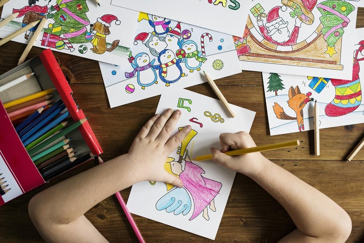 dzieci, rysowanie, przedszkole, malowanie - pixabay