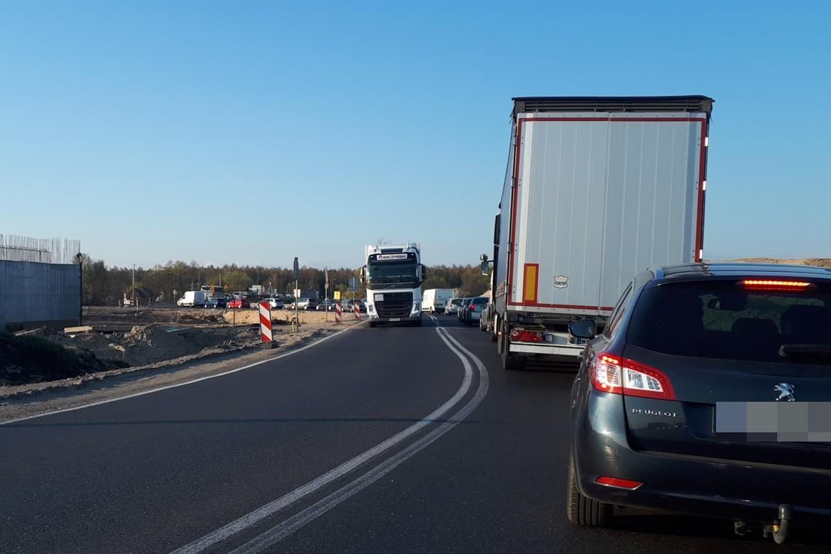korek - DK5_ Zamość - traffic - MR