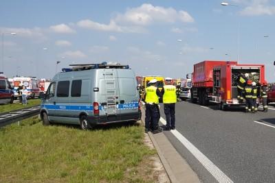policja, straż pożarna - na sygnale - KMP Włocławek