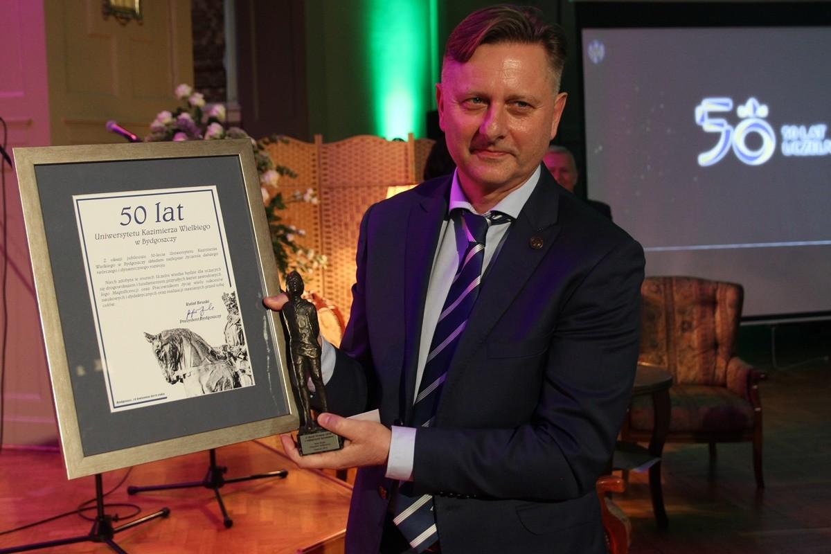 prof. Jacek Woźny - rektor UKW Bydgoszcz - SF