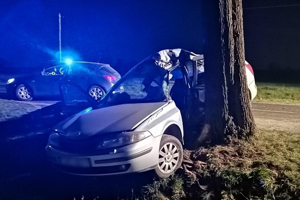 wypadek - DP2420, Bystrzyca - KPP Mogilno