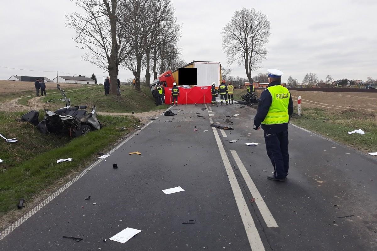 wypadek - DW560, Marianki (pow. rypiński) - KPP Rypin