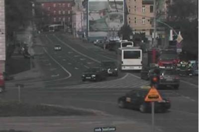 wypadek - rondo jagiellonów Bydgoszcz - ITS
