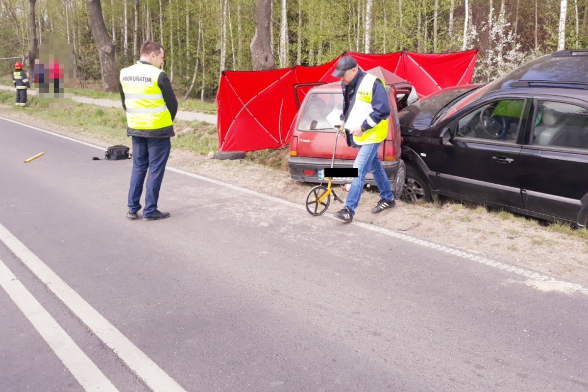 wypadek_ DW560 Marianki - KPP Rypin