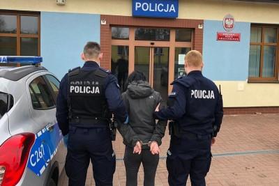zatrzymanie 38-latki_ kradzież Bydgoszcz - KWP Bydgoszcz