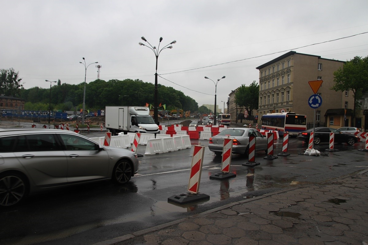 16-05-2019 Rondo Bernardyńskie - organizacja ruchu - SF (2)