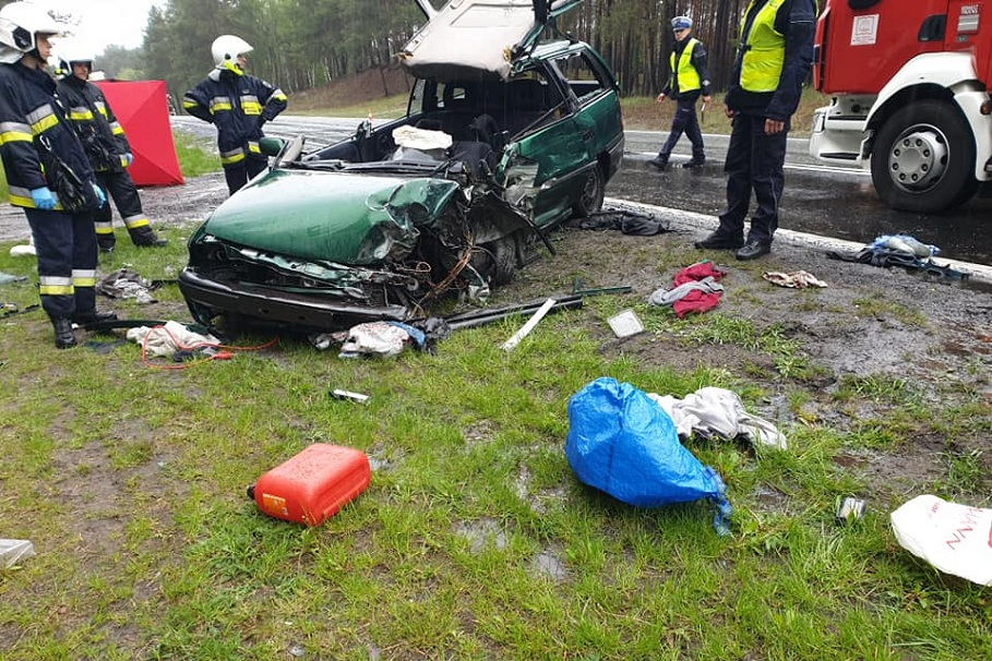 dk 10 wypadek