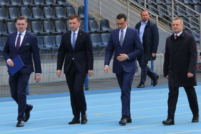 Adrian Mól, Łukasz Schreiber, Mateusz Morawiecki, Mikołaj Bogdanowicz - SF