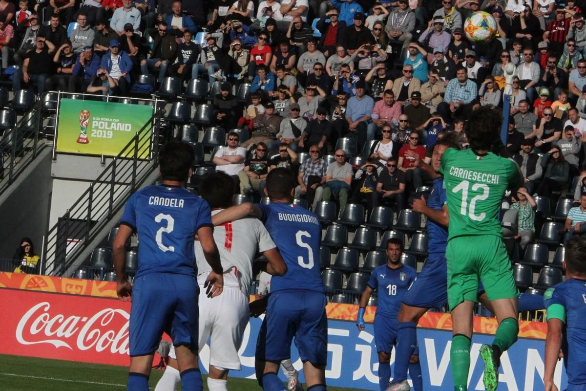 Mistrzostwa Świata U-20 Bydgoszcz_ grupa B Włochy - Japonia_ SF (30)