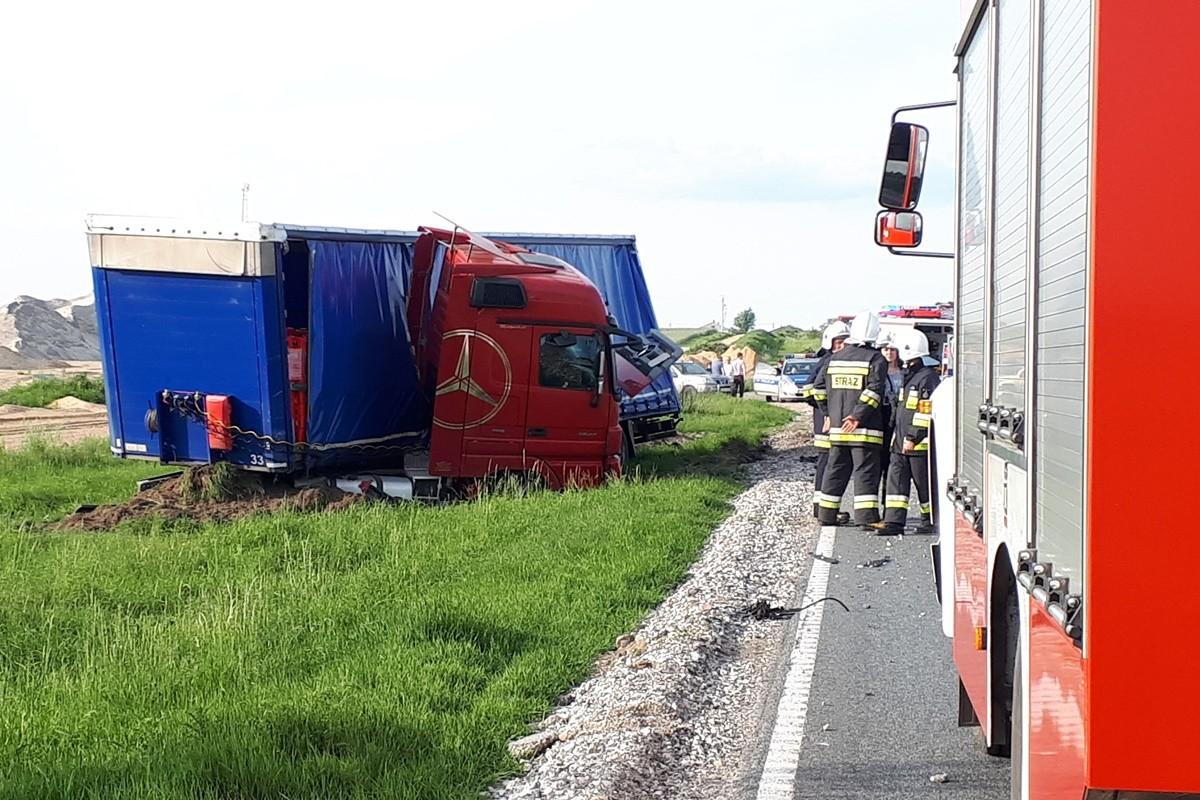 Wypadek_ DK5 Wąsosz - MR