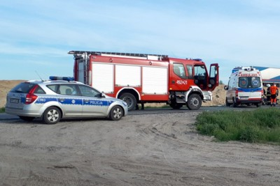 ambulans, straż pożarna, policja - na sygnale - MR