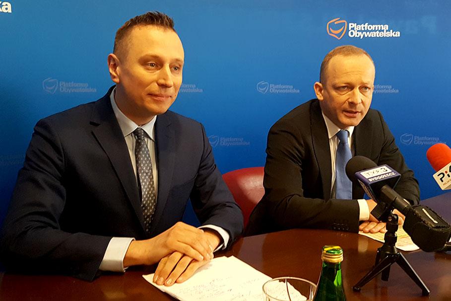 Krzysztof Brejza Paweł Olszewski
