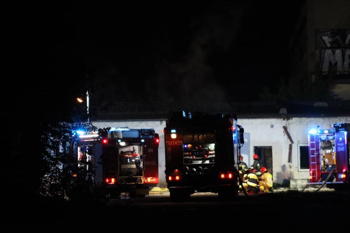 pożar - Pomorska Bydgoszcz_ JS