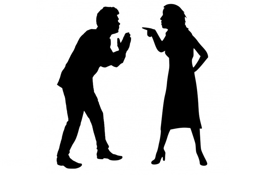 rozwód, kłótnia - CC