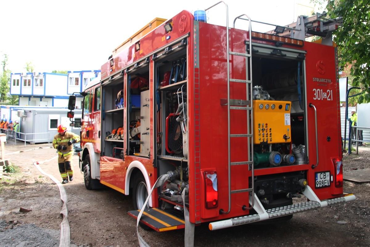 straż pożarna - na sygnale - SF-5