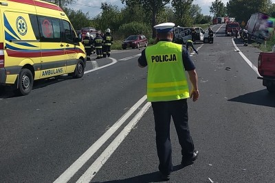 wypadek_ DK91 Storlus - KPP Chełmno