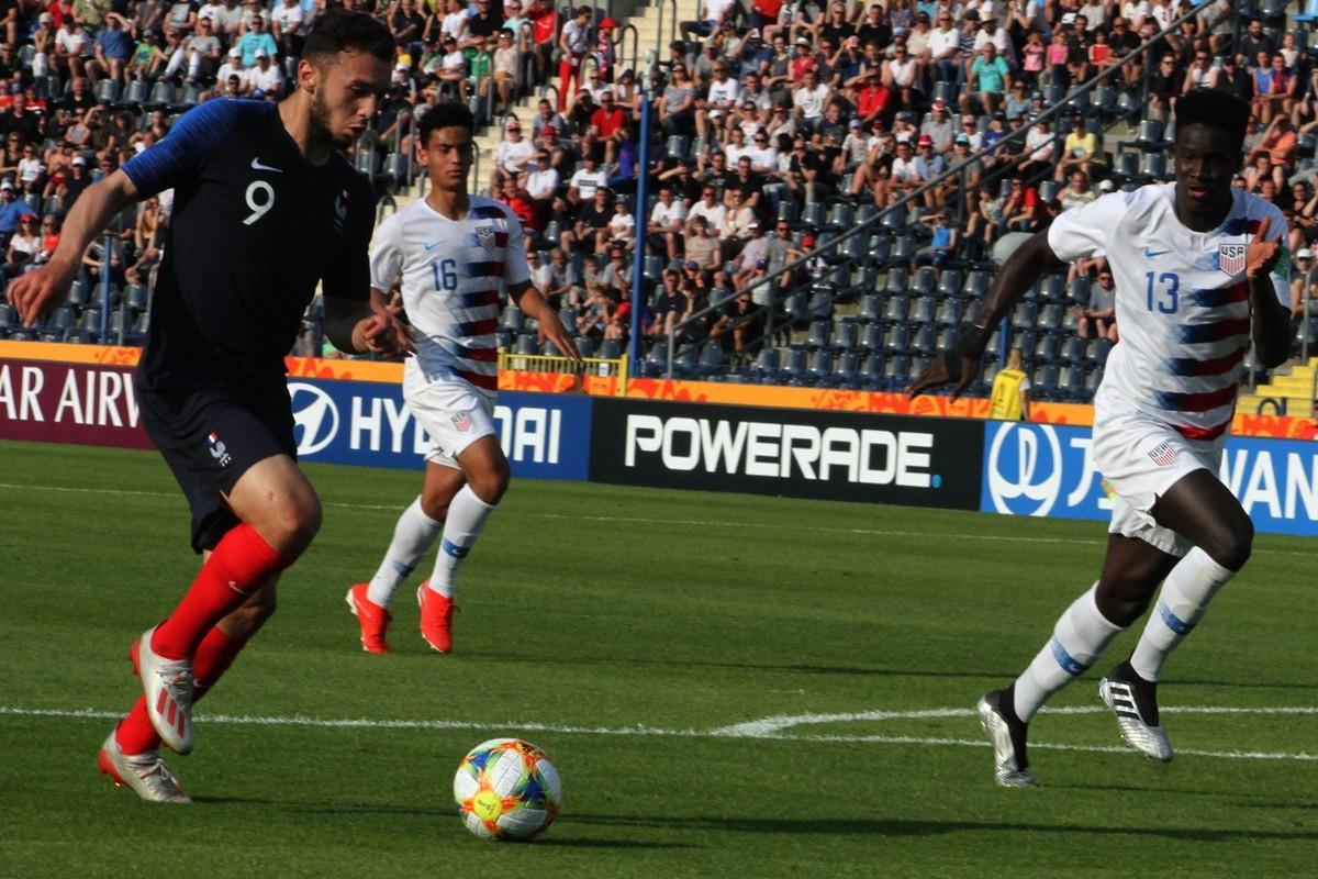 1-8 finału mistrzostw Świata w piłce nożnej U-20 Bydgoszcz_ Francja - USA_ SF (14)