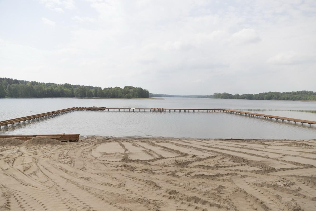 20-05-2019 prace na plaży w Sępólnie Krajeńskim_ UM Sępólno Krajeńskie (4)